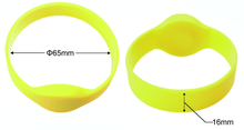 ISO 14443A protocol RFID qr code bracelet with classic 1k chip