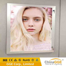 FOB price 2015 the newest advertising Aluminum frame rectangle light box