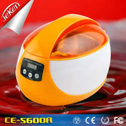 Jeken factory 750ml Hot Sale home use Small Ultrasonic Jewelry Cleaner CE