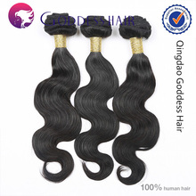 Hot selling 5a unprocessed body wave virgin hair sticker hair extensions