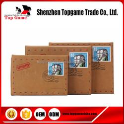 Envelope folio genuine leather bag case for iPad air 5/6
