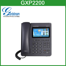 Grandstream GXP2200 10/100/1000Mbps network ports ip phone with poe