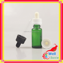 plastic drum blow molding machine 15ml golden collar dropper glass bottles for essention oil