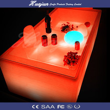 Night Club furniture design led wine table hot selling