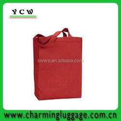 2015 Wholesale reusable Cotton tote bag shopping