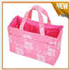 Multifunction pp woven tote bag with outside pockets