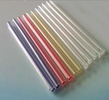 Fiber optic heat shrinkable tube