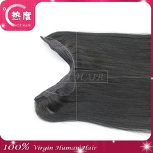 Fashion flip in hair Alibaba Trade Assurance Paypal Accepted Factory Price Grade 6A Indian Hair Flip In Hair Extension