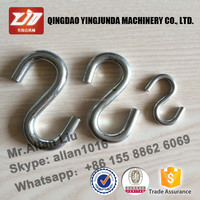 Good quality metal S hooks and hangers for clothes store