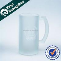 Hot sale beer glass Eco-friendly beer glass mug creative custom logo beer glass