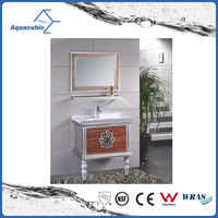 The Middle East style Stainless Steel Bathroom vanity cabinet