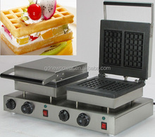 china supplier stainless steel commercial hong kong waffle maker application waffle making machine