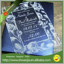 wholesale acrylic laser cut wedding invitations,wedding invitation card designs