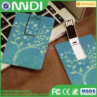 2015 usb credit card with logo printing , bulk usb flash drive from China factory