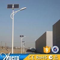 Long service time 8m high pole 70w solar street light kit