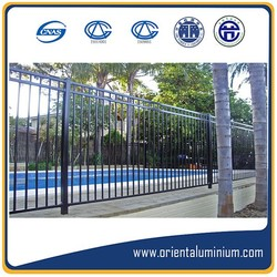 aluminium swimming pool safety fencing