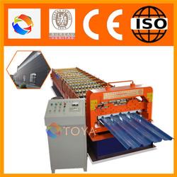 High performance high quality zinc roof tile making machine