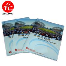 Factory cheap Customized eco Plastic L shape A4 PP file folder