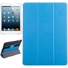 Alibaba Trade Assurance Silk Texture Leather for iPad Air Case Cover with Hand Strap