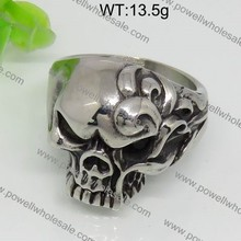 Adorable style skull vintage ring casting