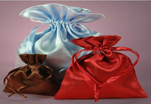 Fashion Satin jewelry drawstring pouch bags