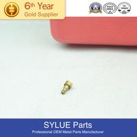 Nice surface black anodized aluminum thumb screw knurled/6061 aluminum screw
