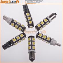 Universal 12V Multicolor Canbus T10 3SMD led car interior lighting