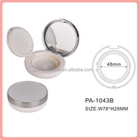PA-1043B matte silver air cushion bb foundation case plastic cosmetic packaging