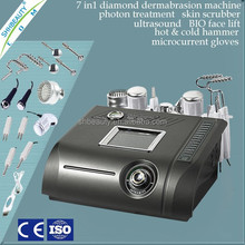 Home Use Diamond Ultrasonic Microdermabrasion Machine , Photon Skin Rejuvenation