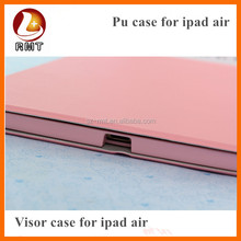 factory price high quality for apple ipad PU leather case ,hot new products for 2015 case for apple ipad air