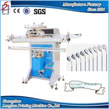 Guangzhou Printing Machine Multi-functional Semi Automatic Tube Cylinder Fishing Rods Golf Cue Pipe Screen Printing Machine