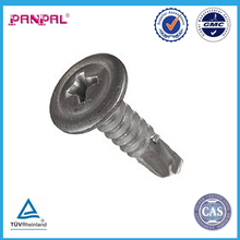 """Phillips Drive 3/4"""" Stainless Steel Self-Drilling Screw, Plain Finish,"""
