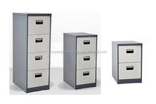 Drawer under desk hanging small file cabinet furniture steel