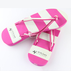China factory wholesale sexy pink Design nude lady flip flops