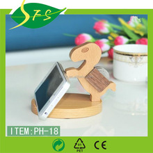 High quality cheap solid wood cell mobile phone holder for sell, custom order are welcome