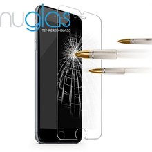 Nuglas Explosion-proof 9H 2.5D curved Tempered glass film screen protector for Iphone 4 4s 5 5s 6 6s