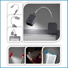 mini E-book or book lamp/clip reading lamp for student/cute reader light