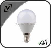 E14 5W G45 LED bulb light, cheap price, 400lm, CE/EMC passed