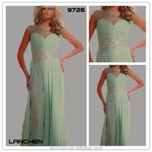 9726 la última moda vestidos largos de fiesta