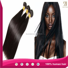 Wholesales Factory Price High Quality 100% Unprocessed Human Virgin Hiar Weaves Bundle, Brazilian Silky Straight Remy Hiar
