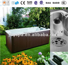 JOYSPA pop-up lcd tv outdoor hot tub/ 2 person swim spa / garden free sex tv hot tub spa
