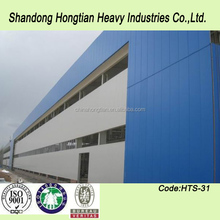 Prefabricated low cost steel structure warehouse/workshop