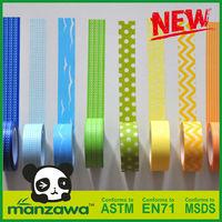 Manzawa good quality customized packing washi tape