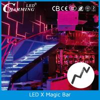 Led X Magic Clay lighting Bar for night club lights