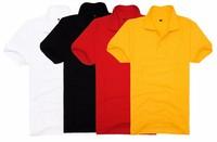 casual women polo shirt CVC double mesh in stock short sleeve in cheap price