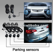 2012 hot 6 sensors digital parking sensor