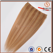 Hot Sell Flip In Hair/ Fish Wire Hair/ Halo Hair Extensions