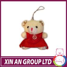 QJ48/ASTM/ICTI/SEDEX plush toy various color different stylish teddy bear