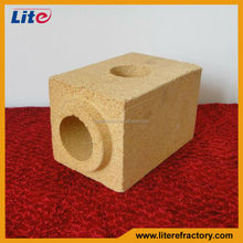 customizing fire brick of different sizes and shapes for industrial furnace