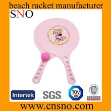 urable and Useful Plastic Beach Tennis Racket for Outdoor Activities